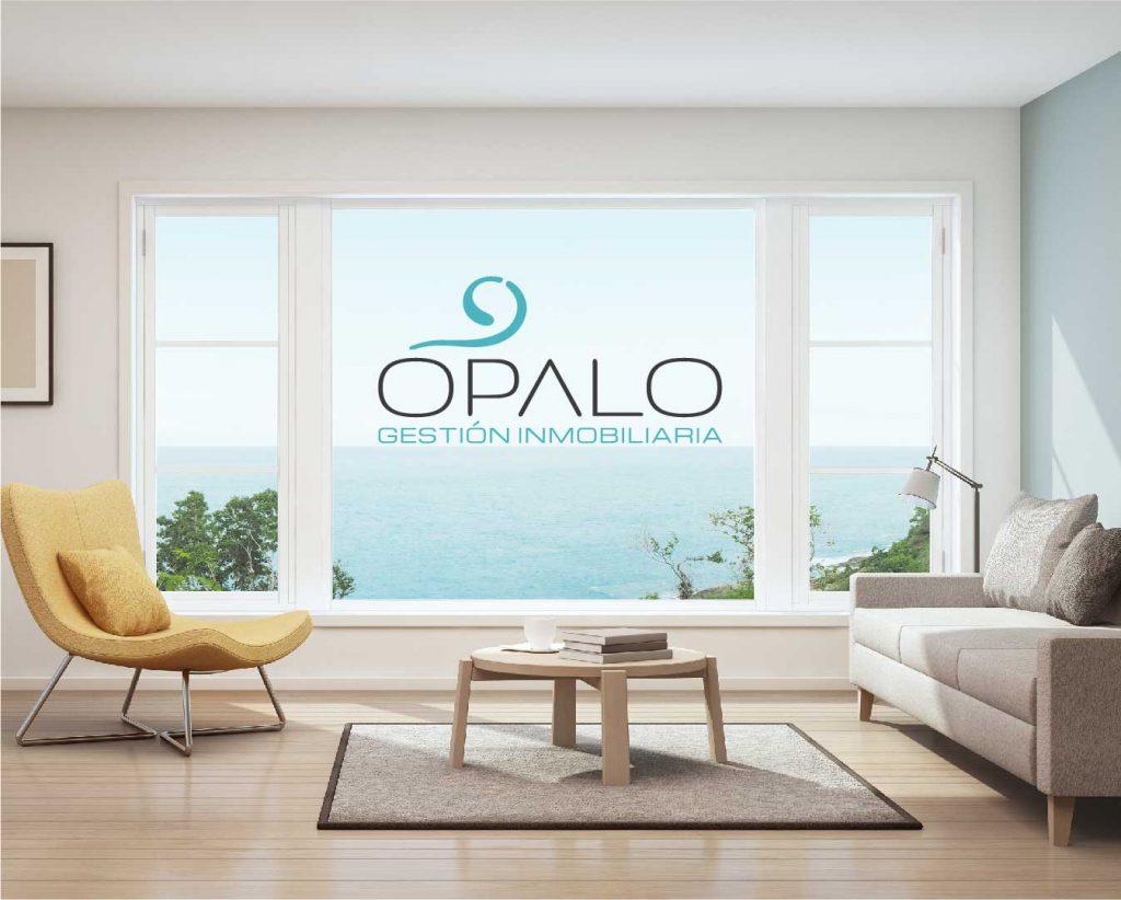 opalo inmobiliaria branding