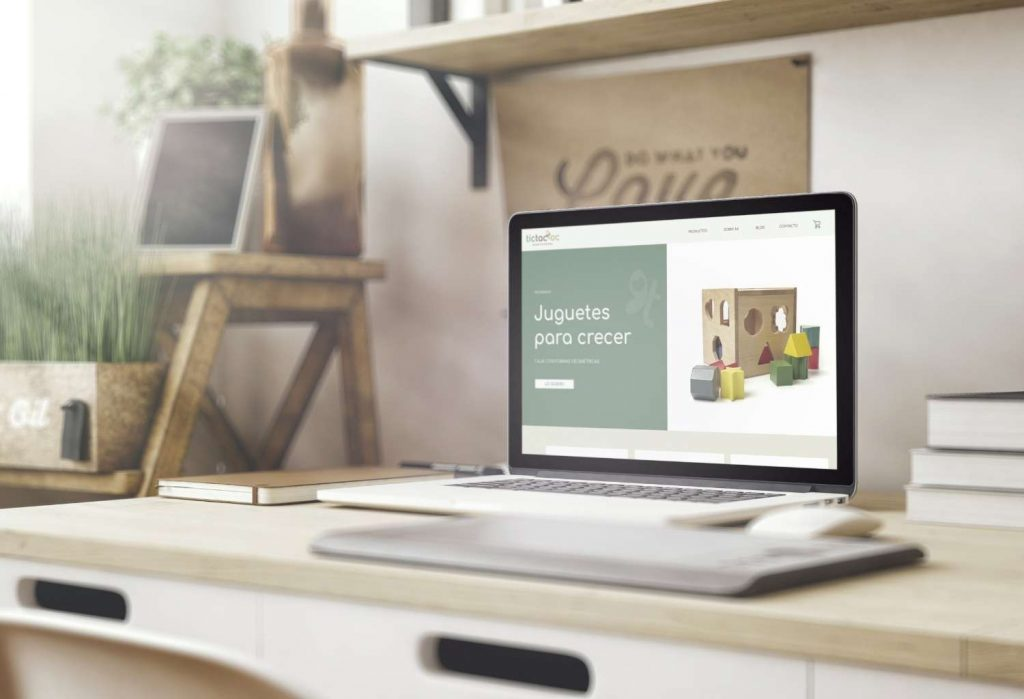 pagina web tienda online